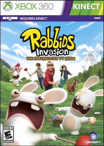 Rabbids Invasion: The Interactive TV Show - Xbox 360