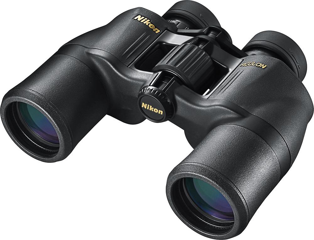 Nikon - Aculon A211 8x42 Binoculars - Black