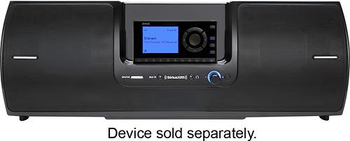 SiriusXM - SD2 Portable Speaker Dock - Black