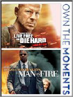 Live Free or Die Hard/Man on Fire [2 Discs] (DVD)