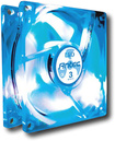 Antec - TriCool 80mm LED CPU Cooling Fan - Clear