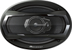 "Pioneer - 6"" x 9"" 3-Way Car Speakers with Multilayer Mica Matrix Cones (Pair) - Black"