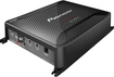Pioneer - 1600W Class D Digital Mono MOSFET Amplifier with Wired Bass Boost Remote - Black