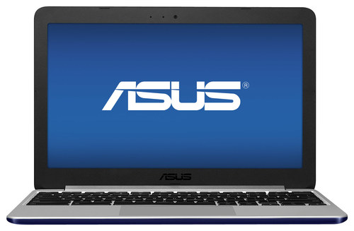 Asus - 11.6 Chromebook - Rockchip Cortex A17 - 2GB Memory - 16GB Solid State Drive - Navy Blue