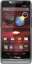 Motorola - DROID RAZR M 4G LTE Cell Phone - Platinum (Verizon Wireless)