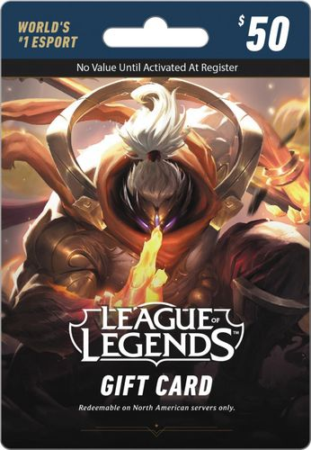 Riot - League of Legends Game Card ($50) - Black