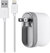 Belkin - Swivel Charger and 4' Lightning-to-USB Charge/Sync Cable