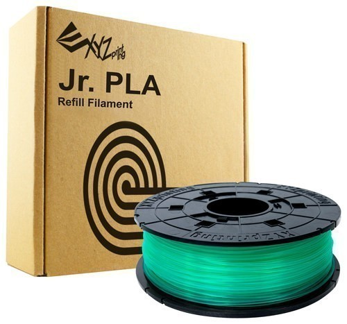 XYZ Printing - 1.75mm PLA Filament for Select XYZ Printing da Vinci Jr. 3D Printers - Clear Green