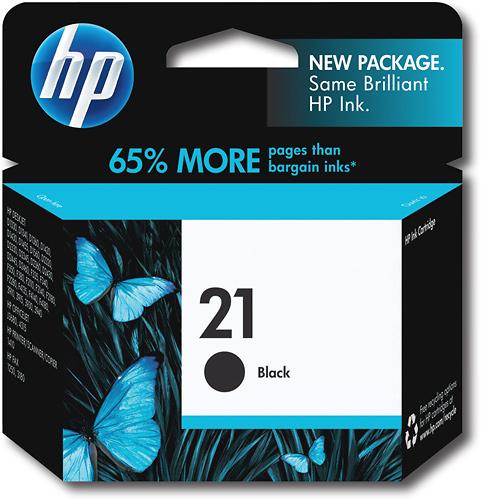HP - 21 Ink Cartridge - Black
