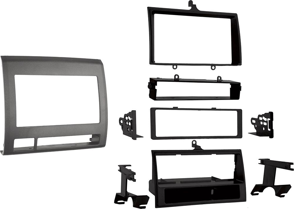Metra - Pocket Installation Kit for Select Toyota Tacoma Trucks - Black