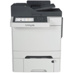 Lexmark - Laser Multifunction Printer - Color - Plain Paper Print - Desktop - Gray