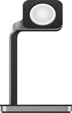 mophie - Charging Dock for Apple Watch™ - Silver