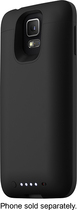 mophie - juice pack External Battery Case for Samsung Galaxy S 5 Cell Phones - Black