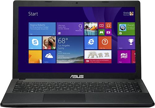 "Asus - 15.6"" Laptop - Intel Core i3 - 4GB Memory - 500GB Hard Drive - Black"