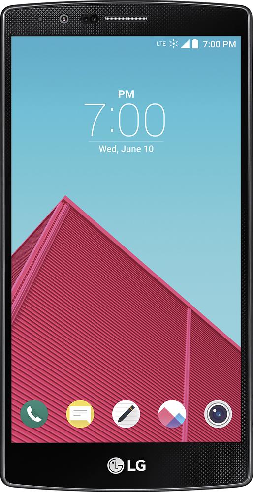 LG - G4 Cell Phone - Deep Blue (Sprint)