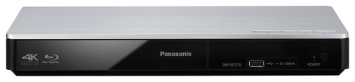 Panasonic - DMP-BDT270 Streaming 3D Wi-Fi Built-In Blu-ray Player - Black