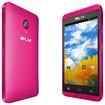 Blu - Dash Music 4.0 Cell Phone (Unlocked) - Pink