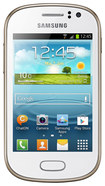 Samsung - Galaxy Fame Cell Phone (Unlocked) - White