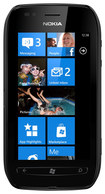 Nokia - Lumia 710 Cell Phone (Unlocked) - Black