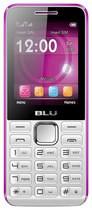 Blu - Tank II Cell Phone (Unlocked) - White/Pink