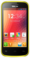 Blu - Dash Jr. 4.0 Cell Phone (Unlocked) - Yellow