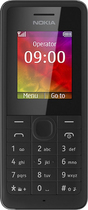 Nokia - 106 Cell Phone (Unlocked) - Black