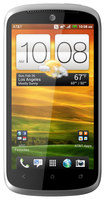 HTC - One VX 4G Cell Phone (Unlocked) - Gray/Red