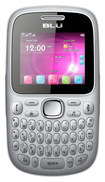 Blu - Samba W Cell Phone (Unlocked) - Silver