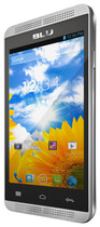Blu - Dash Music 4.0 Cell Phone (Unlocked) - Silver