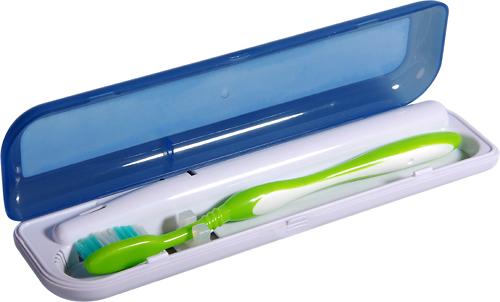 Pursonic - S1 Portable UV Toothbrush Sanitizer - Transparent Blue/White