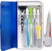 Pursonic - S2 Multiple Toothbrush Sanitizer - Transparent Blue/White