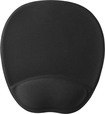 Insignia™ - Mouse Pad with Memory Foam Wrist Rest - Black