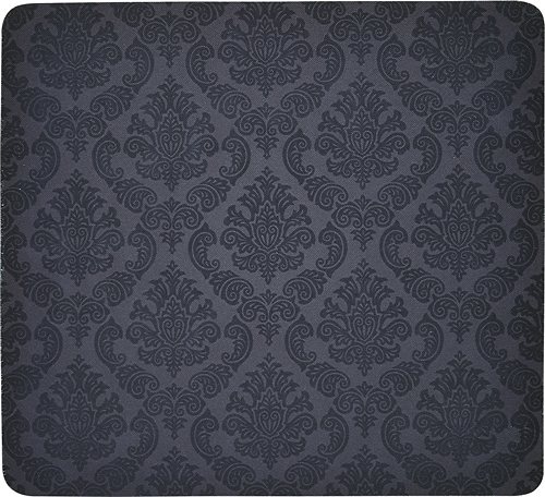 Insignia™ - Damask Mouse Pad - Black