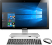 "Lenovo - 23"" Touch-Screen All-In-One - Intel Core i3 - 6GB Memory - 1TB Hard Drive - Black/Silver"