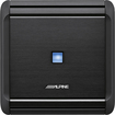 Alpine - 300W Class D Bridgeable Multichannel Amplifier with Variable Crossover - Black