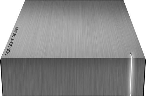 LaCie - Porsche Design P'9230 4TB External USB 3.0/2.0 Hard Drive - Aluminum