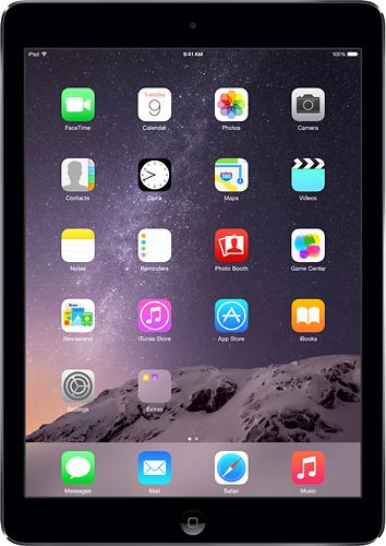 Apple - Ipad Air With Wi-fi + Cellular - 16gb - (sprint) - Space Gray/black