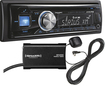 Alpine - CD - Built-In Bluetooth - In-Dash Deck with Satellite Radio Tuner - Black