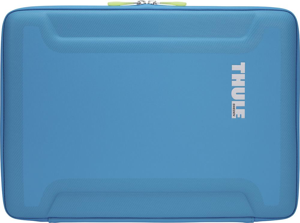 """Thule - Gauntlet 2.0 Sleeve for 13"""" Apple® MacBook® Pro - Blue"""
