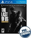 The Last of Us Remastered - PRE-OWNED - PlayStation 4