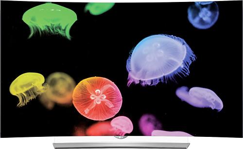 "LG 55"" Class (54.6"" Diag.) OLED Curved 2160p Smart 3D 4K Ultra HD TV Gray 55EG9600"