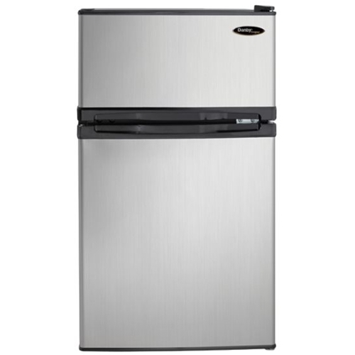 Danby Designer - 3.1 Cu. Ft. Compact Refrigerator - Stainless Steel