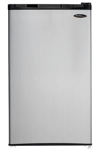Danby Designer - 3.2 Cu. Ft. Compact Refrigerator - Stainless Steel