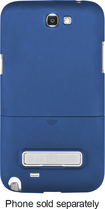 Platinum Series - PT Kickstand Case for Samsung Galaxy Note II Mobile Phones - Blue