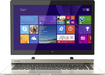 "Toshiba - 2-in-1 13.3"" Touch-Screen Laptop - Intel Core i7 - 8GB Memory - 128GB Solid State Drive - Satin Gold"