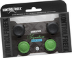 KontrolFreek - GamerPack Signature Analog Stick Extenders for PlayStation 4 - Black/Green