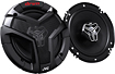"JVC - DRVN 6-1/2"" 2-Way Coaxial Speakers with Carbon Mica Cones (Pair)"