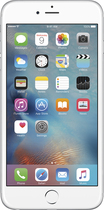 Apple® - iPhone 6 Plus 128GB - Silver (AT&T)