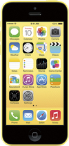 Apple - iPhone 5c 8GB Cell Phone - Yellow (AT&T)