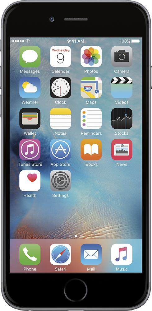 Apple® - iPhone 6 64GB - Space Gray (Verizon Wireless)